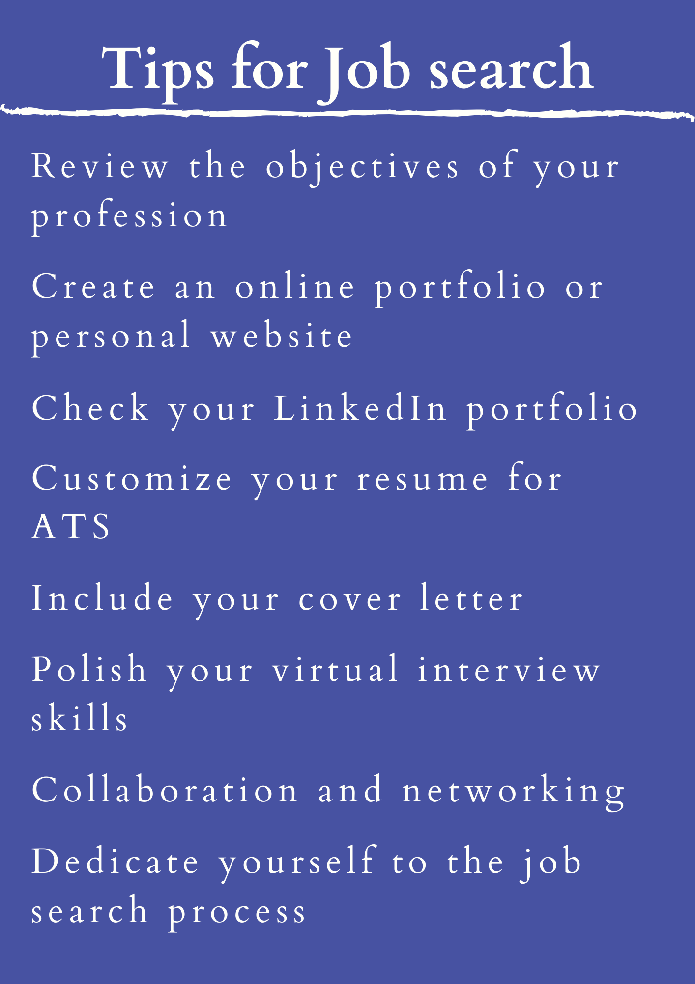Image for part: Review the objectives of your profession